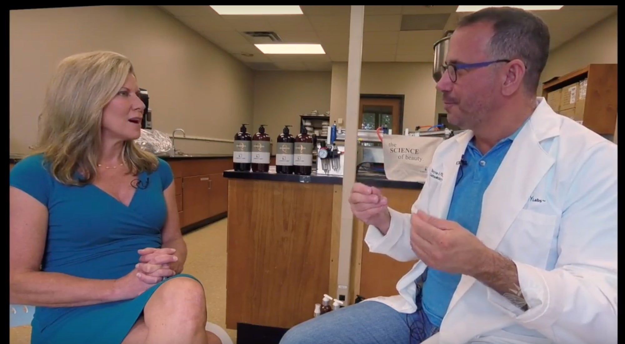 Dr. Boyce Clark and Lubricity Labs Featured on Weekends With Whitney