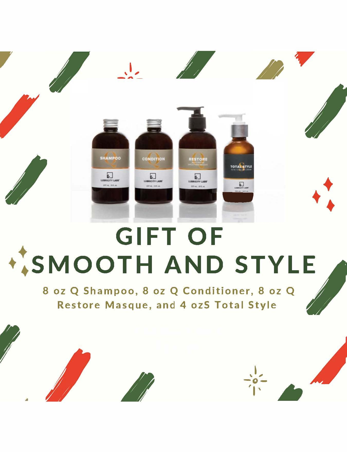 Gift of Smooth + Style Holiday Gift Set