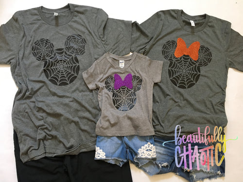 Mickey and Minnie Halloween Shirts - Adult