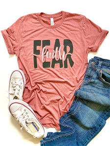 Faith over Fear - BLACK DESIGN