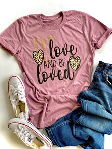 Love and be loved - Leopard print