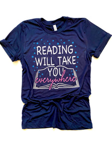 Reading will take you everywhere - KIDS