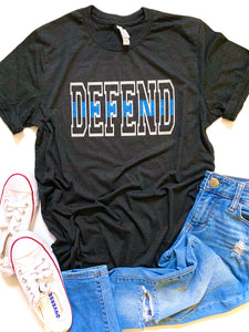 Defend - Thin blue line
