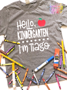 Hello, First Day of School - unisex