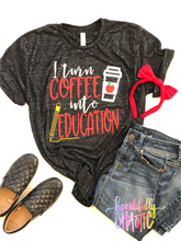 I turn coffee into education