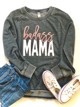 Badass mama - ROSE GOLD GLITTER DESIGN