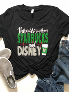 This nurse runs on Starbucks and Disney