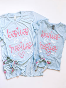 Besties for the resties- PINK DESIGN - KIDS