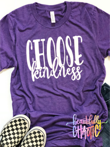 Choose kindness- white design