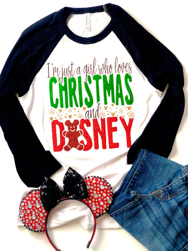 I'm just a girl who loves Disney and Christmas