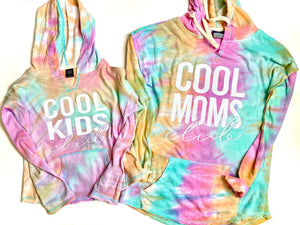 COOL Moms / Kid Club - TIE DYE - Hoodie