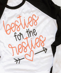 Besties for the resties - CORAL DESIGN - ADULTS
