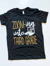 ZOOM-ing into - School Grade- GOLD GLITTER Design - KIDS