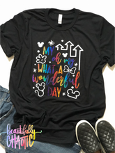 My oh my what a wonderful day - RAINBOW DESIGN