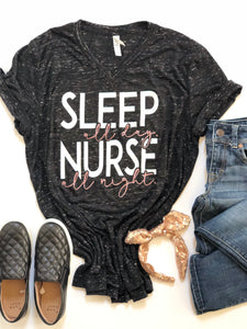 Sleep all day, nurse all night