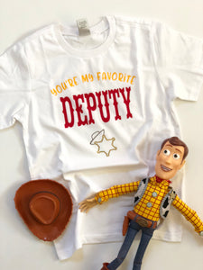 You're my favorite deputy-kids