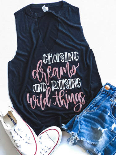 Chasing dreams and raising wild things - ROSE GOLD DESIGN