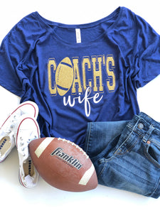 Coach's Wife - Football