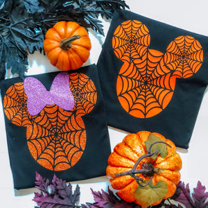 Halloween Minnie/Mickey - orange- ADULTS