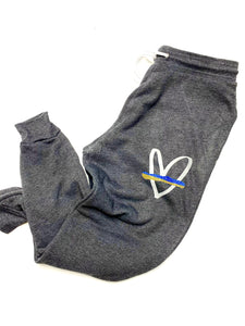 Blue and gold line - JOGGERS