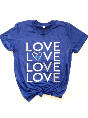 LOVE LOVE LOVE LOVE - Thin Blue Line
