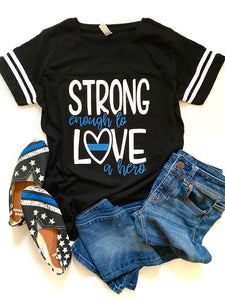 Strong enough to love a hero - POLICE