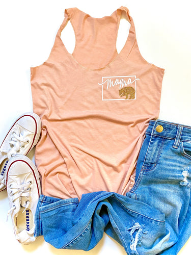Mama Bear - Colored - pocket design
