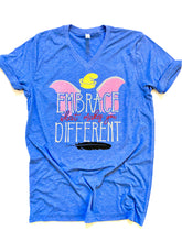 Embrace what makes you different- SOLID SHIRT