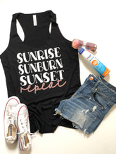 Sunrise, sunburn, sunset, repeat- ROSE GOLD DESIGN