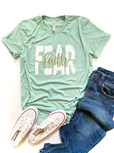 Faith over Fear - WHITE DESIGN