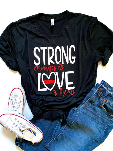 Strong enough to love a hero - FIRE
