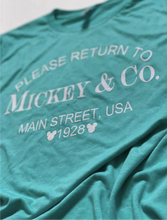 Please return to Mickey & Co.