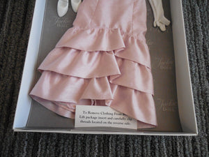 New The Jackie Doll Accessories Embassy Dinner Pink Gown Ensemble Franklin Mint