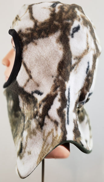 Snow Camo Short Balaclava
