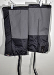 Black / Grey Gaiters