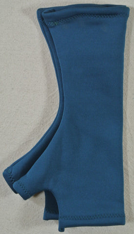 Blue Fingerless Glove