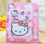 Hello Kitty Notebook & Pen