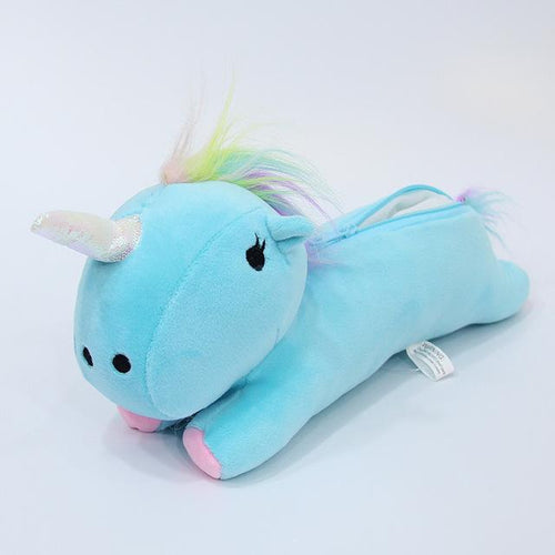 Unicorn Plush Stationary Case