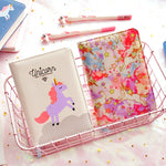Unicorn Faux Leather Monthly Planner