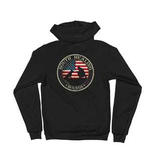 South Healing Hounds - Metal Zipper Hoodie