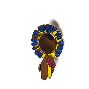 "Shea ""Do I Look Upset To You?"" Pin Shea Coulee Europe UK Merch"
