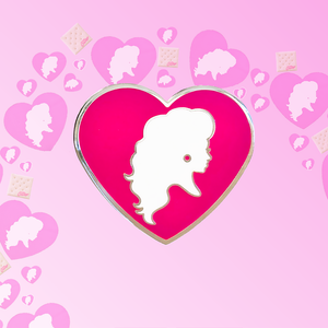 The Miz Cracker Heart Pin