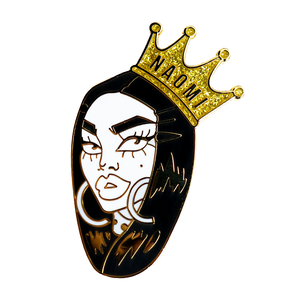"Naomi ""Large Crown"" Pin UK"