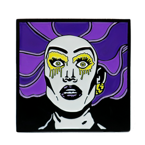 "A Pin Named ""NEVA LAVD YAH!"" Dusty Ray Bottoms Merch Europe UK"