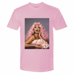 The Vanessa Vanjie Mateo Pink Tee Vanessa Vanjie Mateo Merch Europe UK