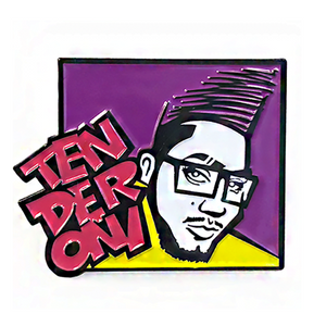 Hella Tenderoni Pin Tenderoni Merch Europe UK