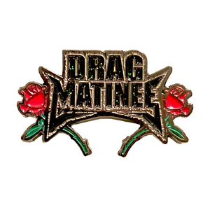 Drag Matinee Pin Trannika Rex Merch Europe UK