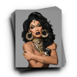 "The ""Dripping in Gold"" Headshot The Vixen Merch Europe UK"