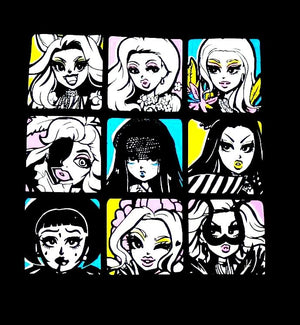 kim chi 3x3 tee kim chi merch Europe UK