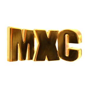 MXC Gold Logo Pin Monet X Change Merch Europe UK